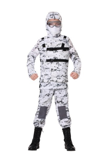 Click Here to buy Winter Camo Soldier Boys Costume from HalloweenCostumes, CDN Funds