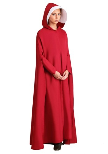 Click Here to buy Handmaids Tale Plus Size Womens Costume 2X from HalloweenCostumes, CDN Funds