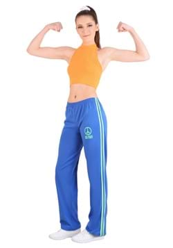 Athletic Girl Power Popstar Costume Women's