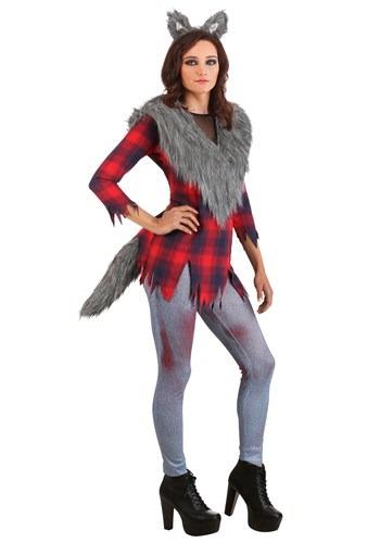 Womens Ruff and Tumble Werewolf Costume