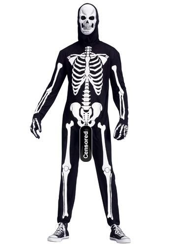 Skeleboner Costume - Mens Adult Humor Costume