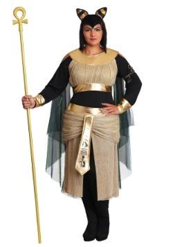 Women's Plus Size Bastet Goddess Costume