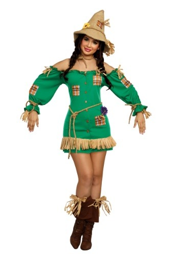 Saucy Scarecrow Womens Costume