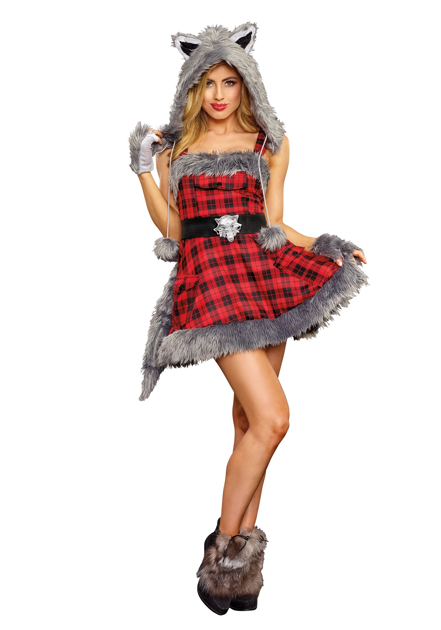 Womenu0027s Big Bad Wolf Costume  sc 1 st  Halloween Costumes : werewolf costume accessories  - Germanpascual.Com