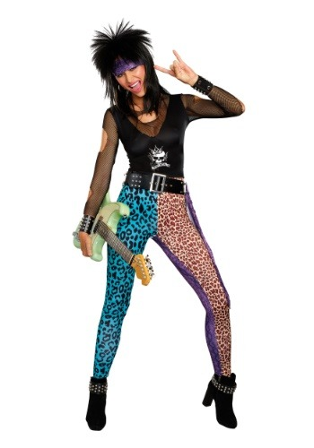 Women's Hair Band Rocker Costume