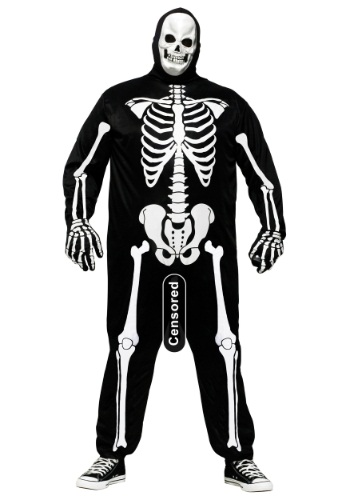Plus Size Skele-Boner Costume By: Fun World for the 2015 Costume season.