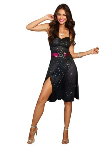 Click Here to buy Disco Diva Womens Costume from HalloweenCostumes, CDN Funds