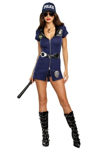 Women's SWAT Police Costume1