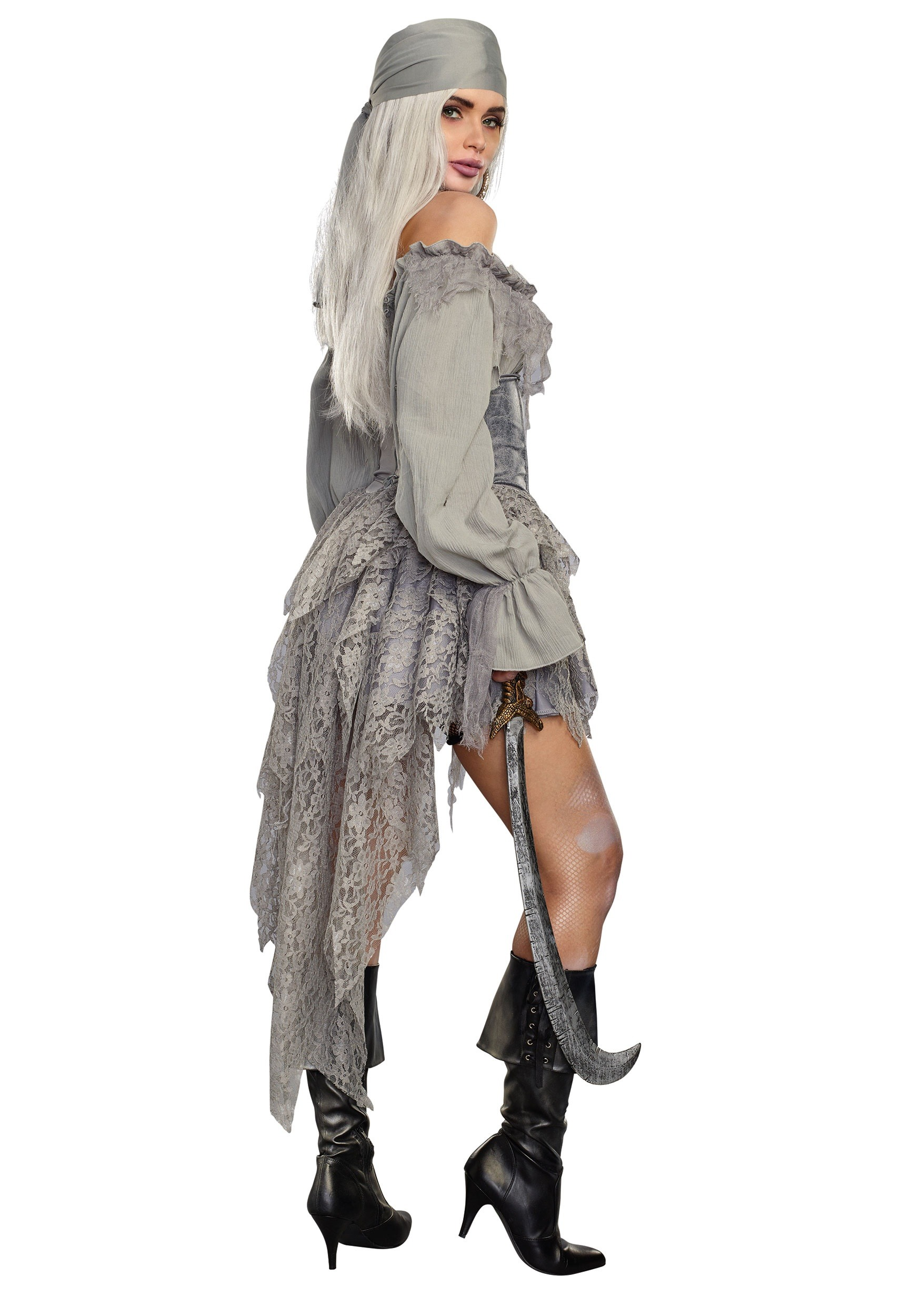 Womenu0027s Ghost Pirate Costume Womenu0027s Ghost Pirate Costume2  sc 1 st  Halloween Costumes & Ghost Pirate Costume for Women