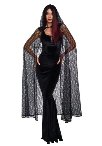Gothic Lace Women's Cape