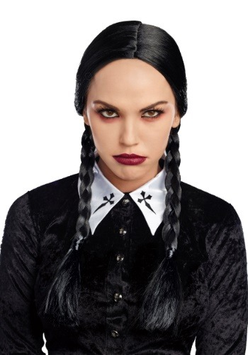 Women's Deluxe Black Braid Wig