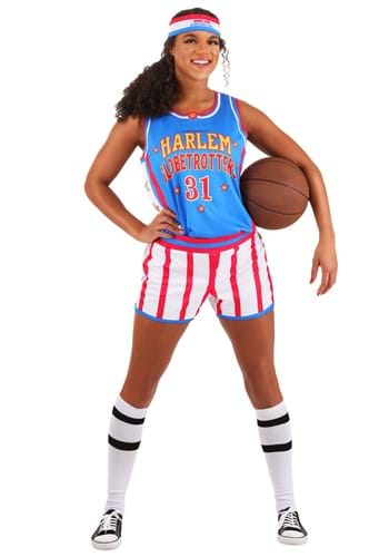 Womens Harlem Globetrotters Uniform Costume