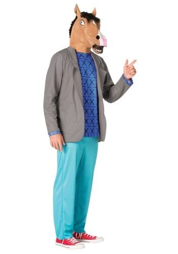 Bojack Horseman Costume for Men