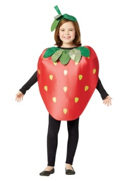 Kids Strawberry Costume  sc 1 st  Halloween Costumes & Funny Fruit Costumes For Halloween - HalloweenCostumes.com