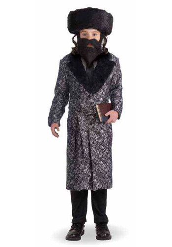 Click Here to buy Deluxe Rabbi Kids Costume from HalloweenCostumes, CDN Funds