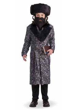 Kids Deluxe Rabbi Costume Update
