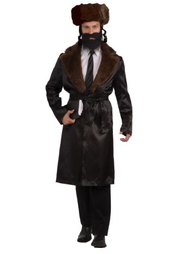 Click Here to buy Rabbi Mens Costume from HalloweenCostumes, USA Funds & Shipping