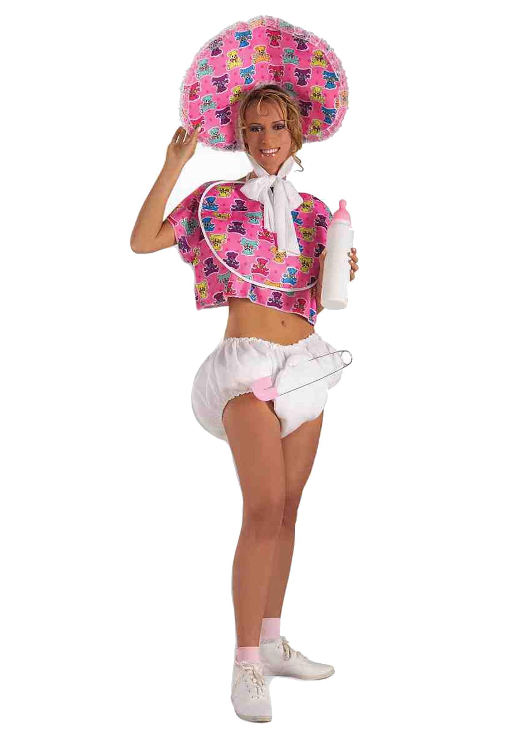 Women s Pink Baby Doll Costume Update1 62b495331