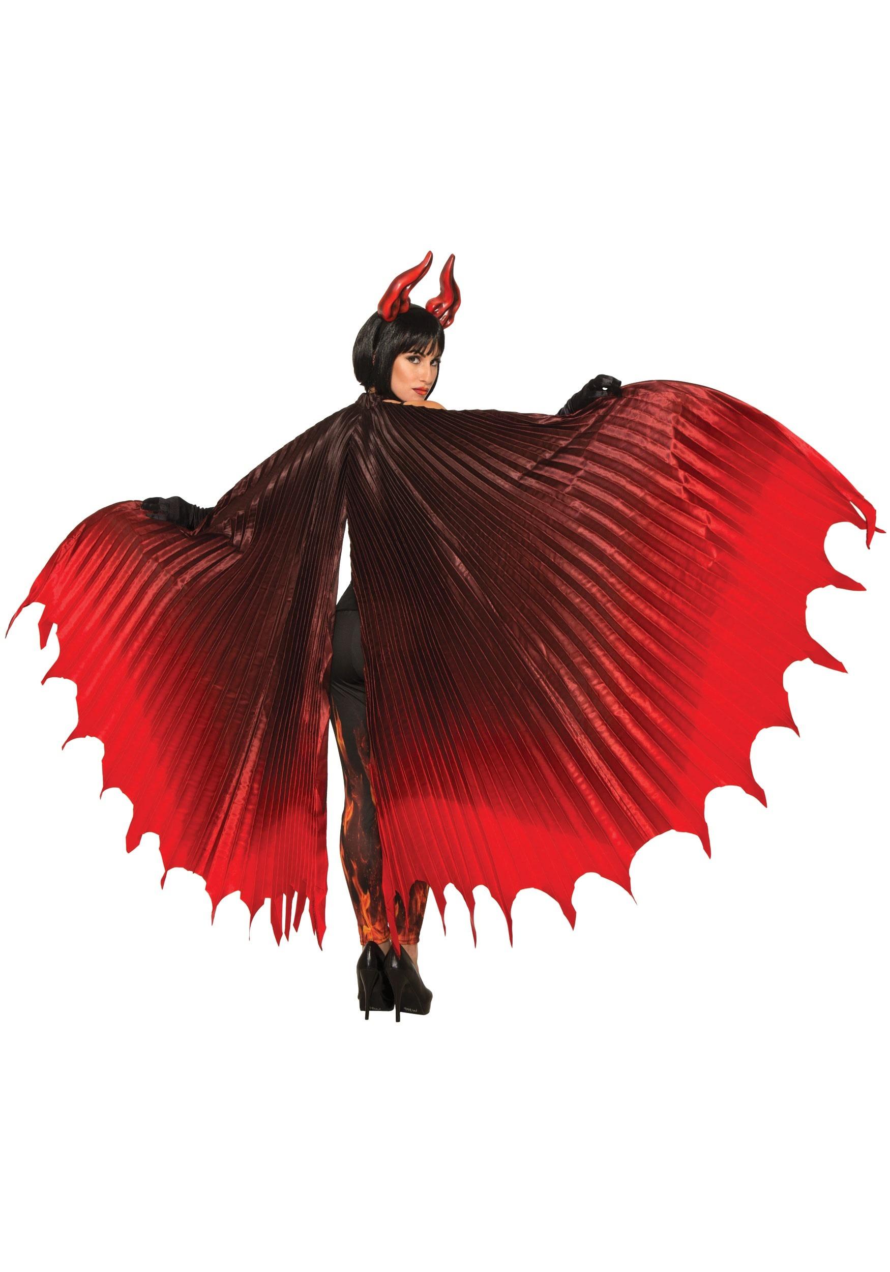 Adult devil cape