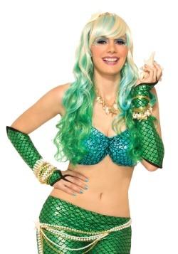 Green Mermaid Sleeves