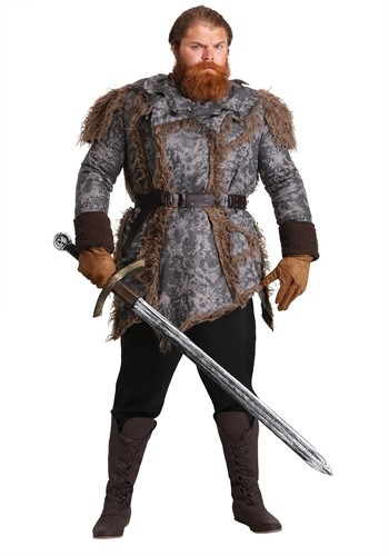 Men's Wild Warrior Costume