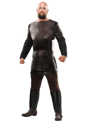Click Here to buy Vikings Ragnar Lothbrok Plus Size Mens Costume from HalloweenCostumes, CDN Funds
