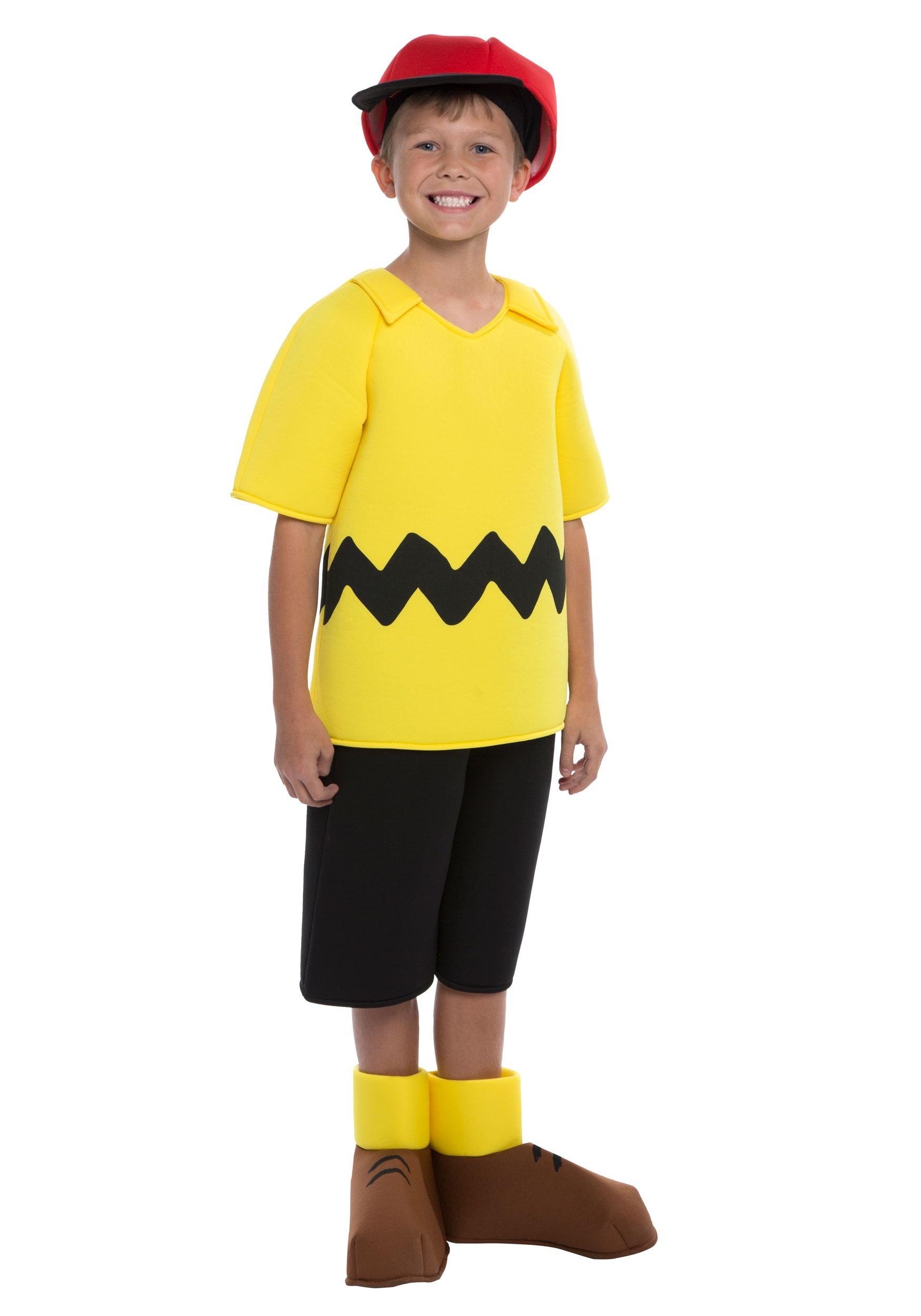 Charlie Brown Boy's Costume