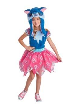 Animal Jam Happy Rowdy Wolf Girls Costume