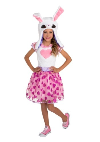 Animal Jam Enchanted Magic Bunny Girls Costume