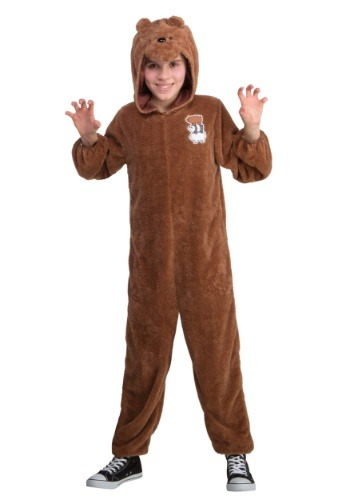Click Here to buy Grizz Bear We Bare Bears Kids Costume from HalloweenCostumes, CDN Funds