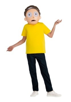 Child Rick and Morty Morty Costume