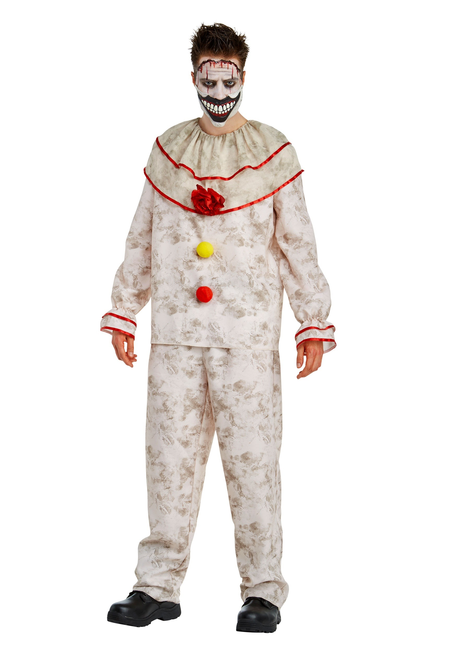 american horror story mens twisty the clown costume