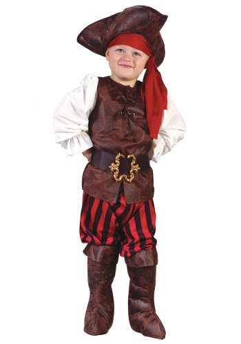Click Here to buy Caribbean Pirate Toddler Costume from HalloweenCostumes, USA Funds & Shipping