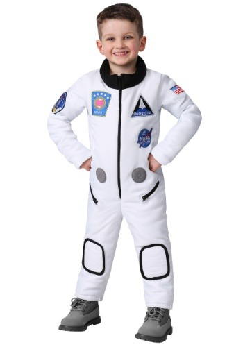 Click Here to buy Deluxe Astronaut Costume for a Toddler from HalloweenCostumes, CDN Funds