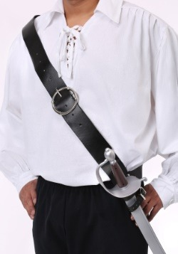Black Shoulder Strap Sword Holder