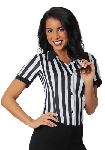 Plus Size Women's Referee Shirt cc