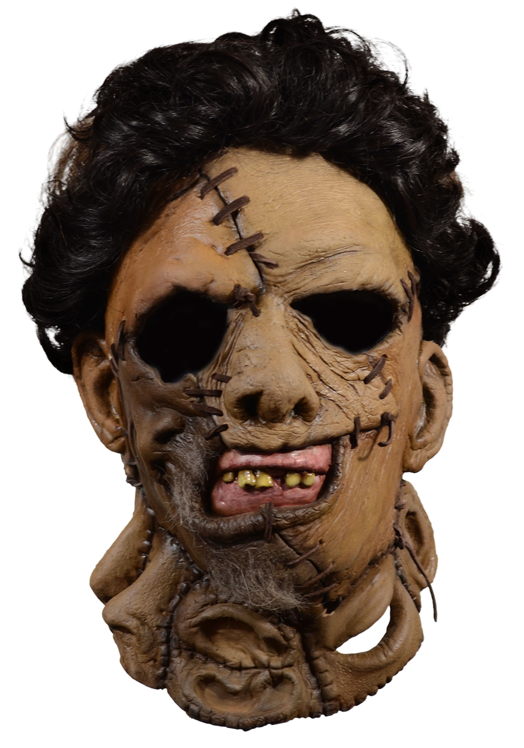 deluxe leather face mask texas chainsaw massacre 2