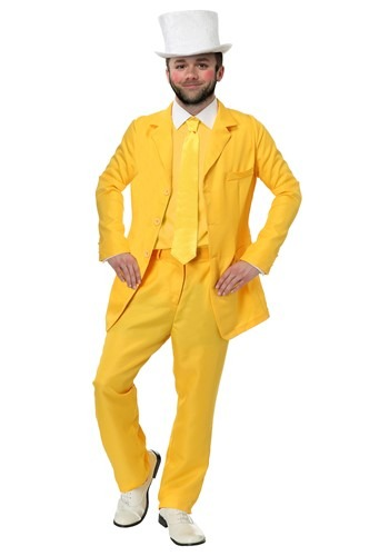 Always Sunny Dayman Yellow Suit Plus Size Costume – Size: 2X – Polyester