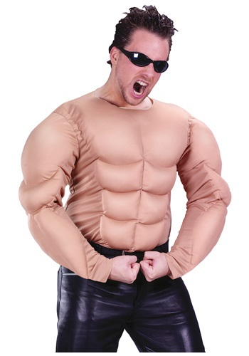 Muscle Chest Shirt By: Fun World for the 2015 Costume season.