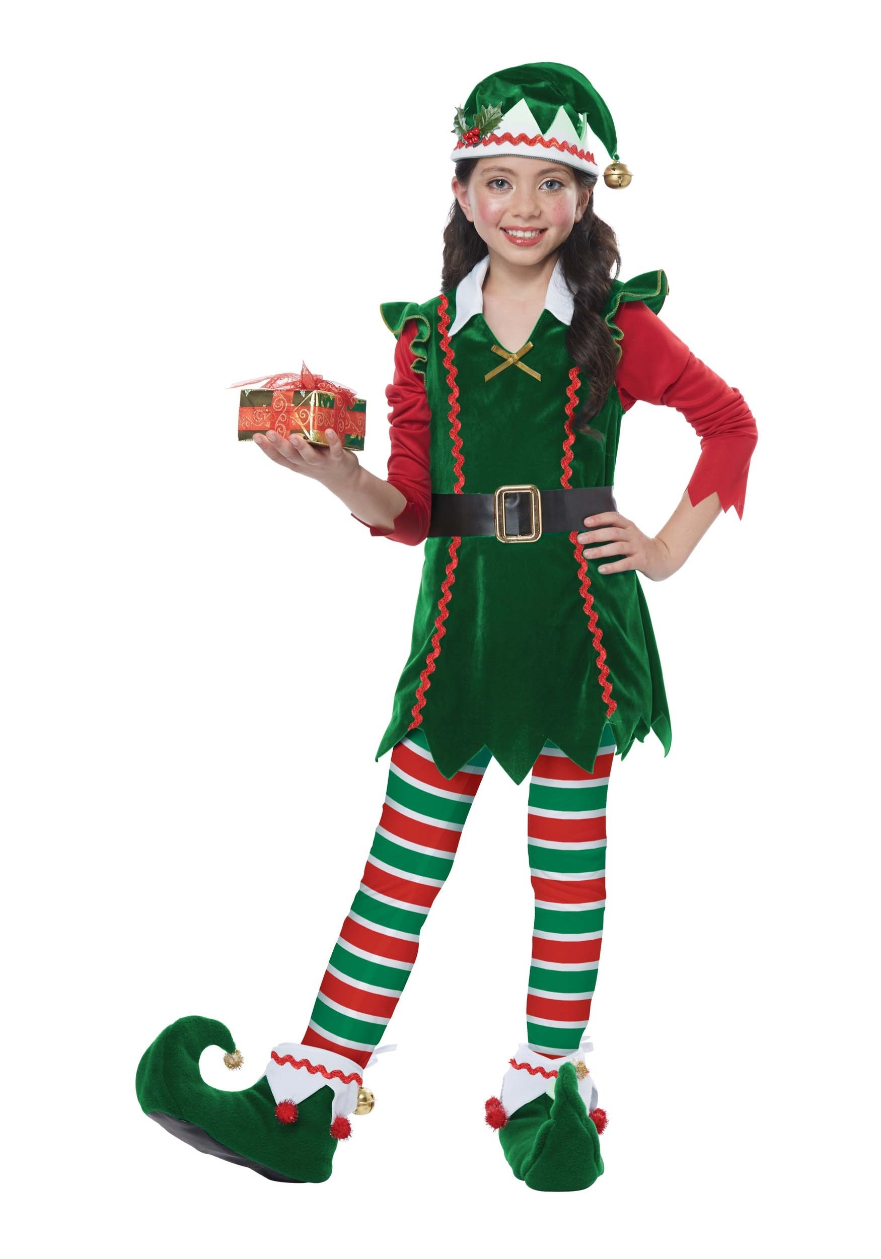 Festive elf costume child - Traje de duende para nino ...