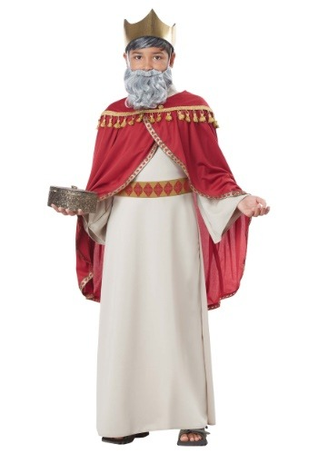 Click Here to buy Boys Melchior Wise Man Costume from HalloweenCostumes, CDN Funds
