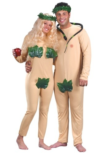 Click Here to buy Adam and Eve Costume from HalloweenCostumes, USA Funds & Shipping