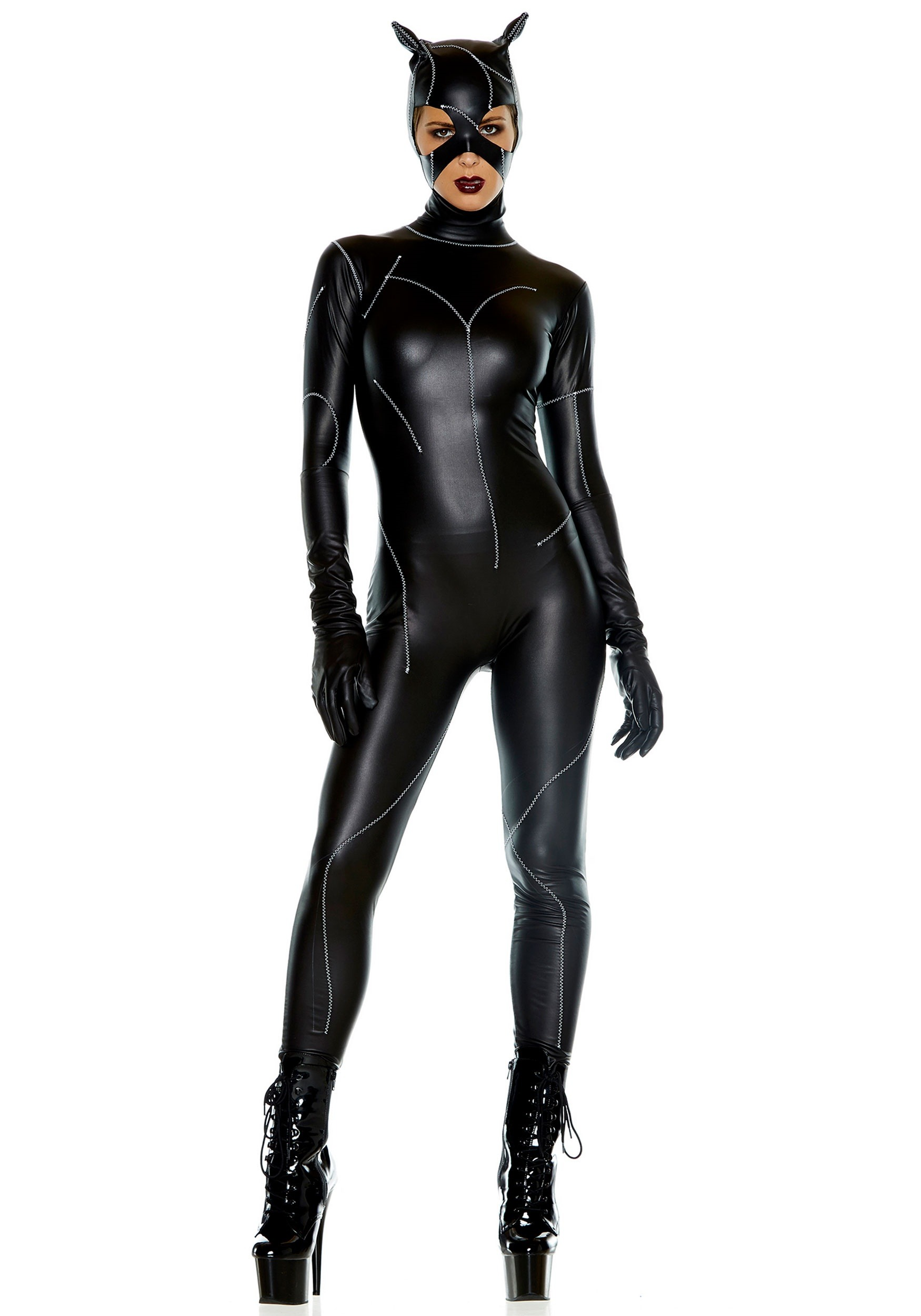 93e6fae090 On The Prowl Catsuit Costume for Women