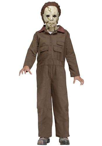Halloween   Michael   Costume   Zombie   Myers   Kid