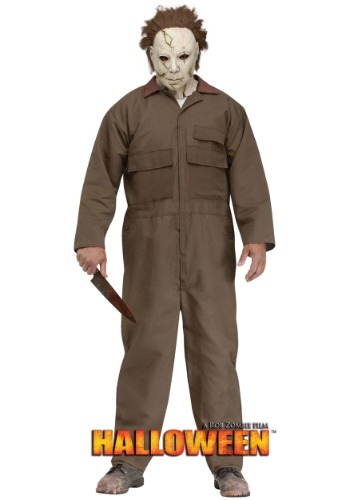 Click Here to buy Rob Zombie Halloween Michael Myers Mens Costume from HalloweenCostumes, USA Funds & Shipping