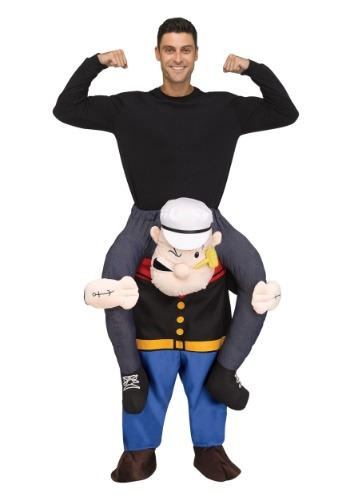 Popeye Ride On Adult Costume
