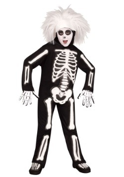 SNL Beat Boy Skeleton Boy's Costume