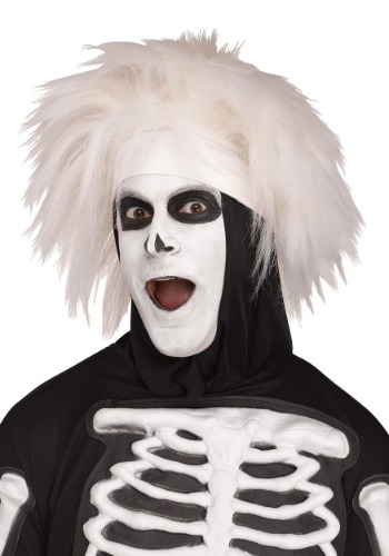 Adult Beat Boy Skeleton Wig1