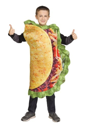 Kids Realistic Taco Costume