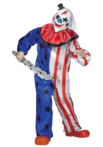Boys Evil Clown Costume